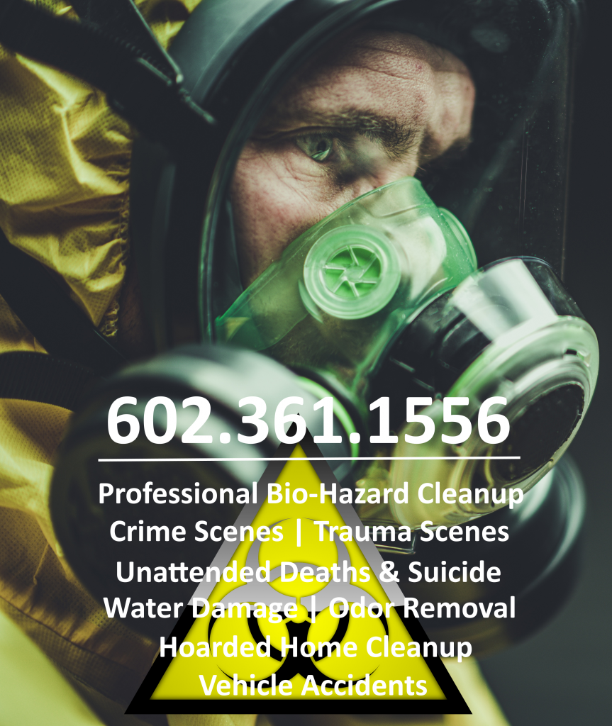 BioHazard cleanup and removal