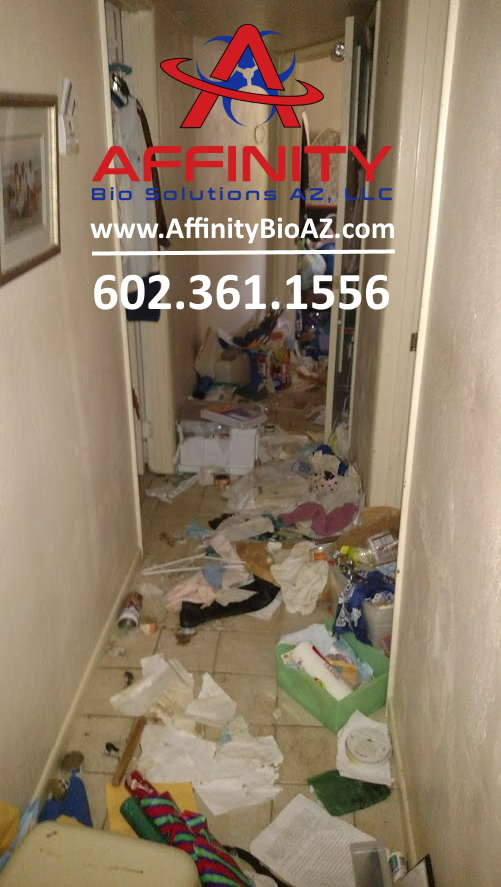 Sun City Surprise Arizona Hoarder House Cleanup Hoarded Home Cleaning