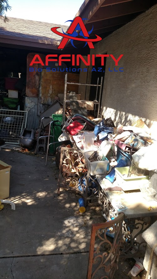 Hoarder House Cleanup Hoarded Home Cleaning in Sun City, Arizona