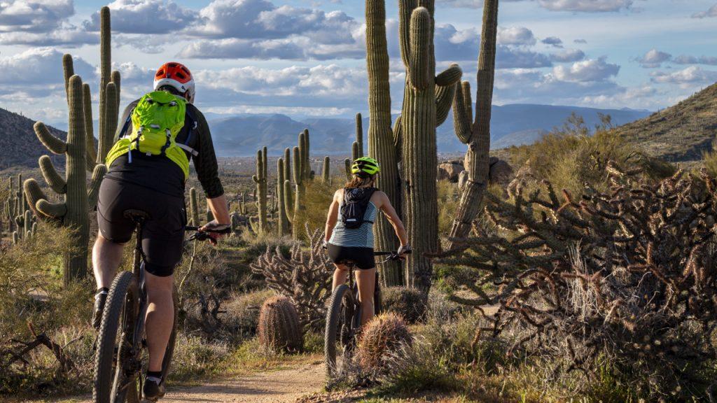 North Scottsdale Arizona Mountain Biking