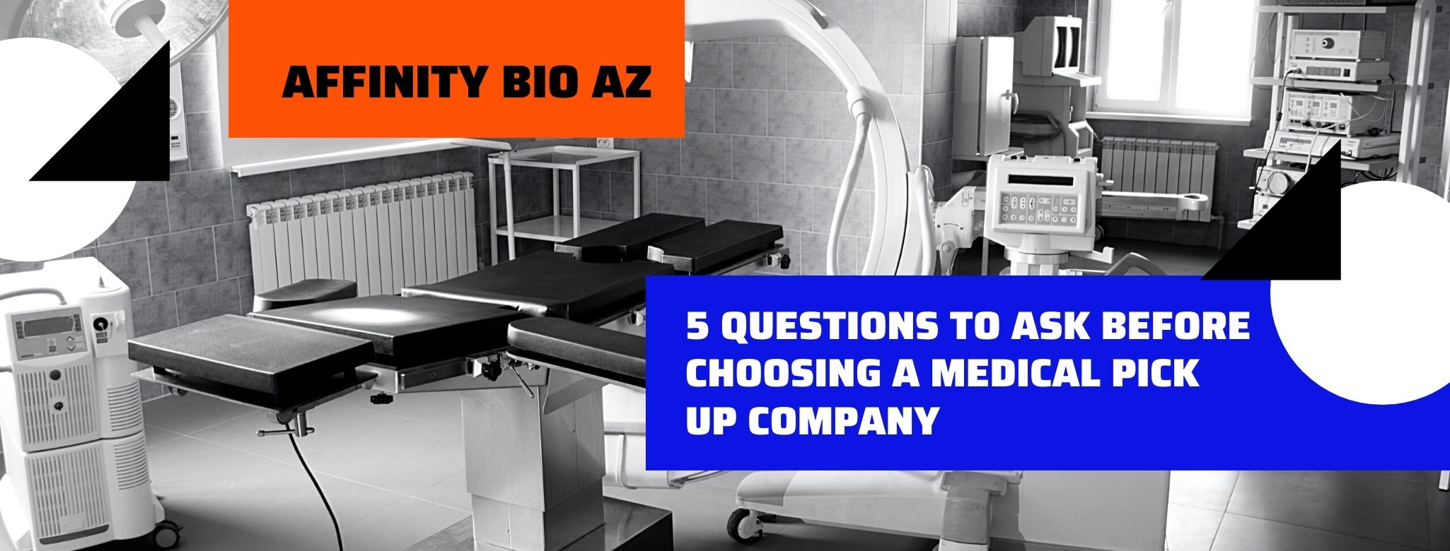 5 Questions to Ask Before Choosing a Medical Pick Up Company
