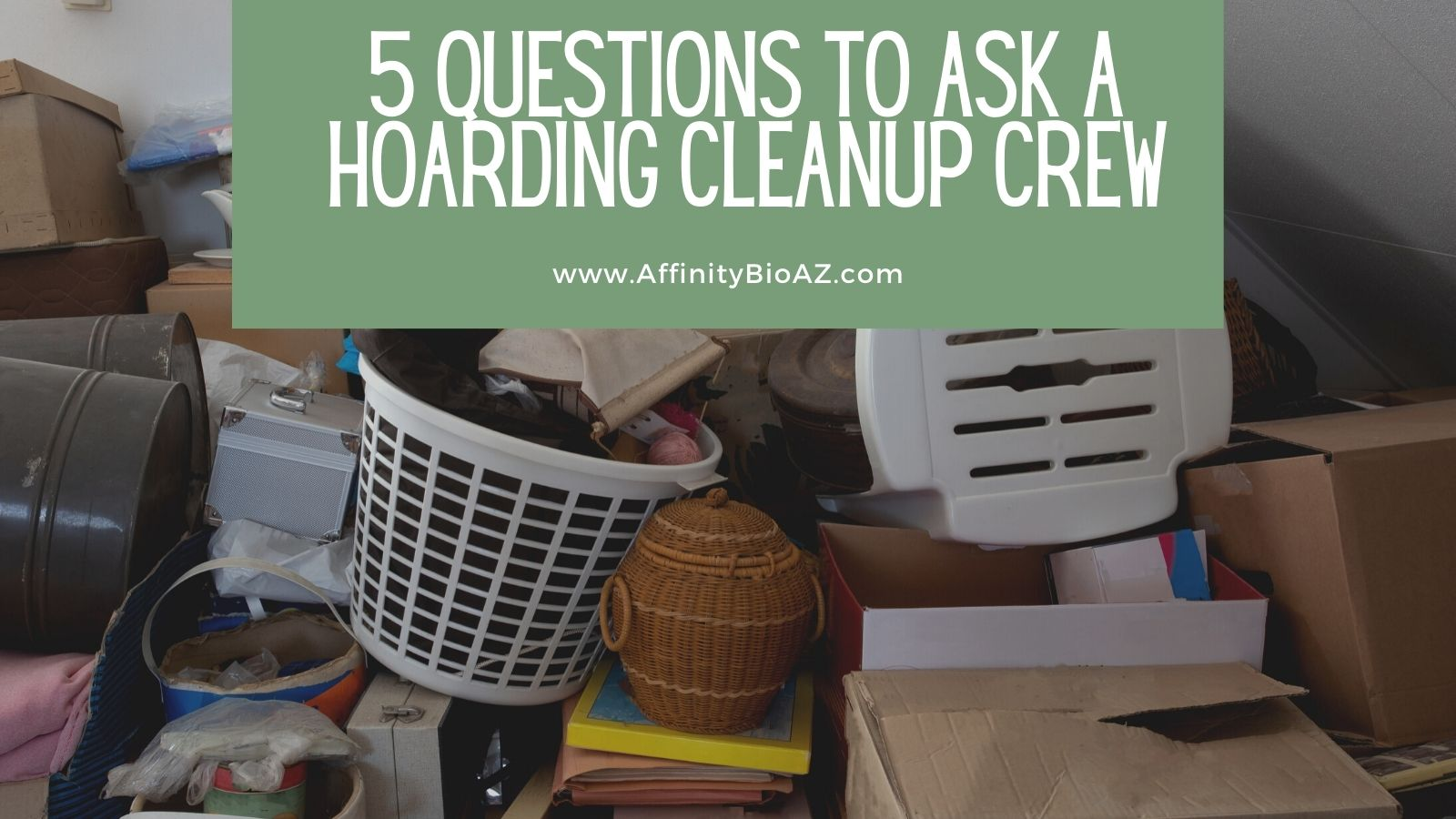 5 Questions to Ask a Hoarding Cleanup Crew