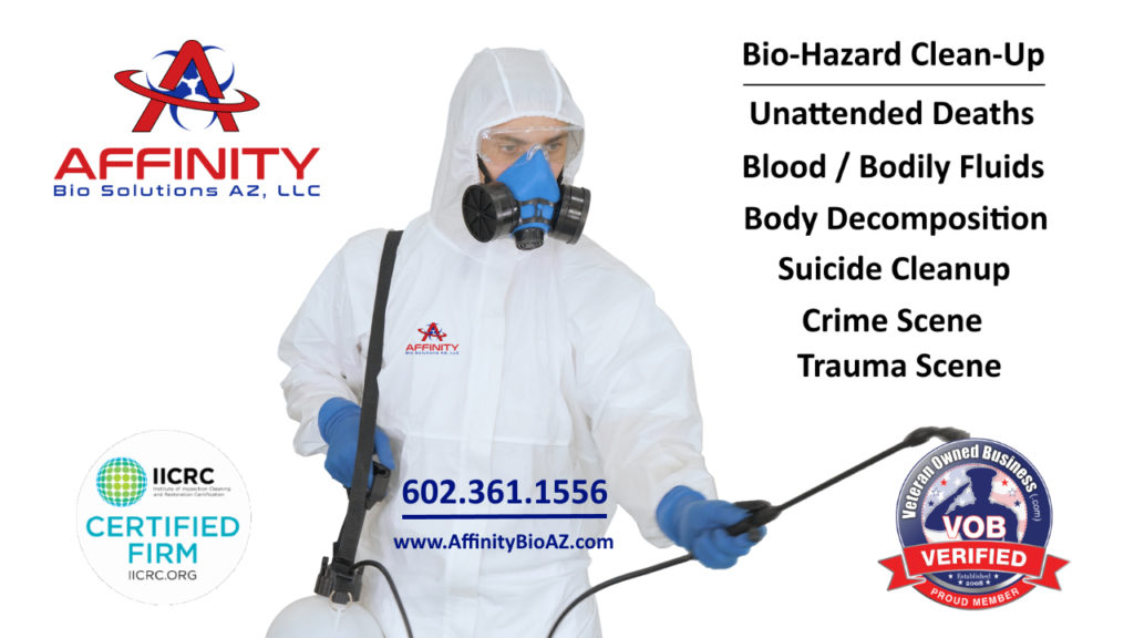 Mesa Arizona Unattended Death Biohazard Cleanup Crime scene cleanup trauma scene cleanup