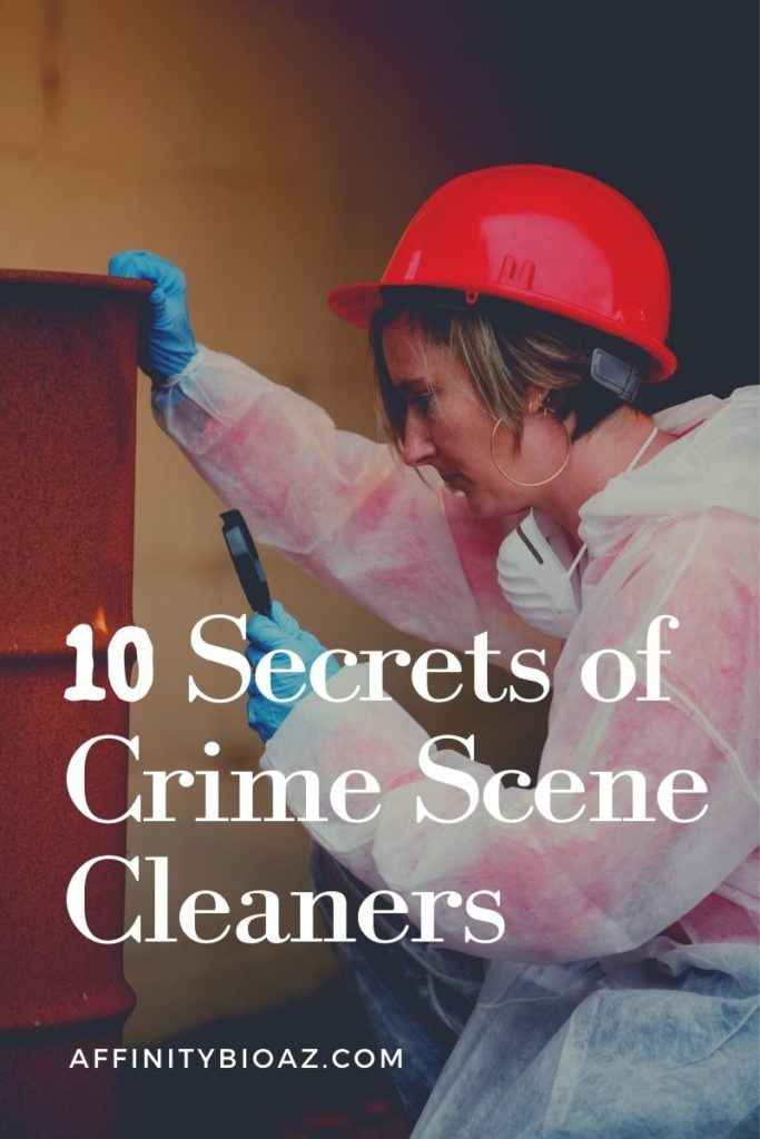 10 Secrets of Crime Scene Cleaners
