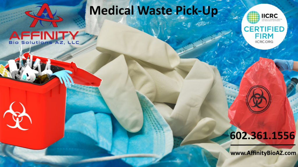 Scottsdale Arizona and Phoenix Valley medical waste pickup