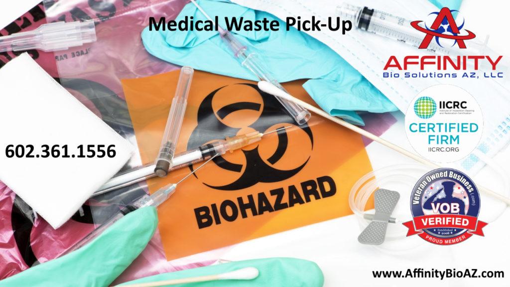 Phoenix Arizona medical waste pickup and disposal
