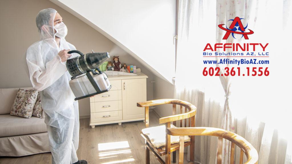 Phoenix Arizona odor remediation, odor removal, bad odor cleanup, biohazard cleaning