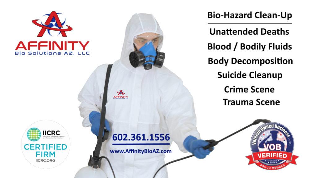 Buckeye Arizona Unattended Death, Suicide and Biohazard Cleanup